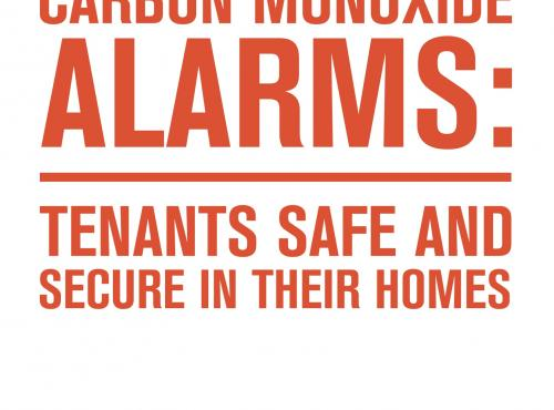 co alarms report cover