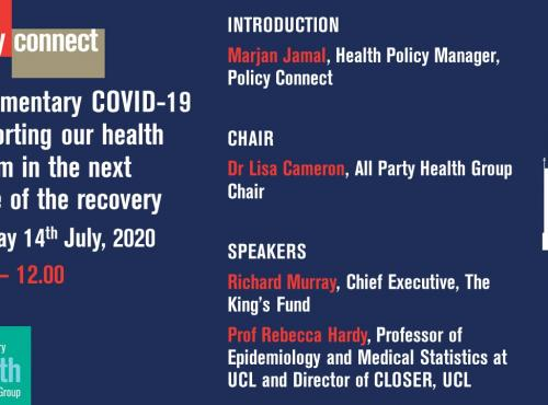 Covid briefing powerpoint slide
