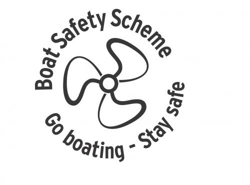 Logo for the Boat Safety Scheme: Go boating - Stay safe