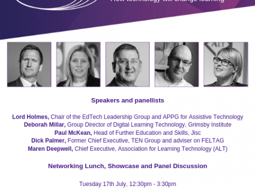 Further Education Trust for Leadership.  Networking Lunch, Showcase, and Panel Discussion