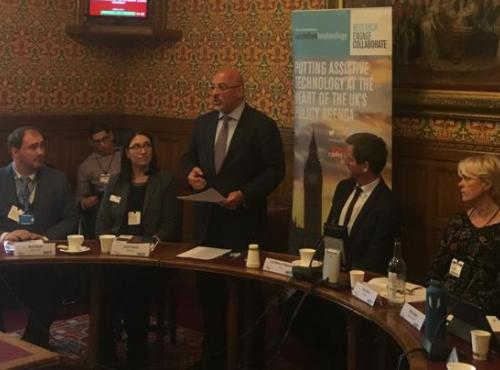 Minister for Children and Families Nadhim Zahawi MP addresses EdTech Symposium