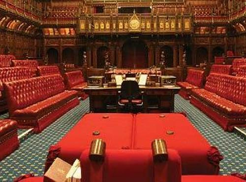 Lords Chamber - Parliament UK