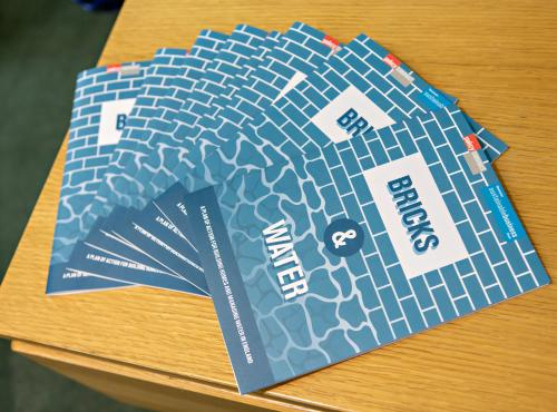 WSBF publishes latest research report: Bricks and Water