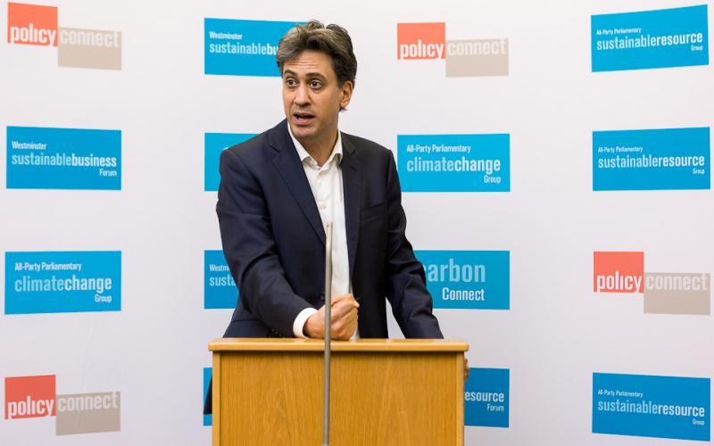 Ed Miliband MP speaks at our net zero Britain conference
