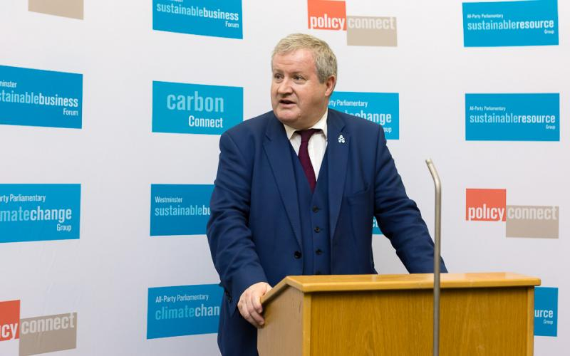 Ian Blackford MP speaks at our net zero Britain conference