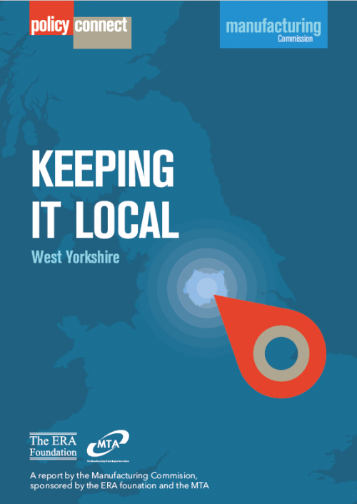 Keeping it Local - West Yorkshire