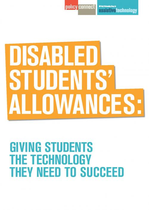 Disabled Students' Allowances: giving students the technology they need to succeed