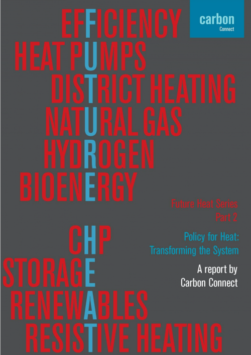 Policy for Heat: Transforming the System Carbon Connect